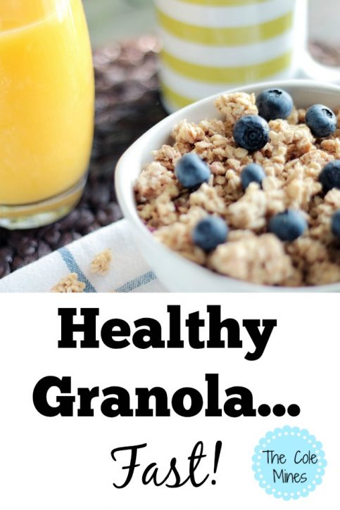 healthy granola fast