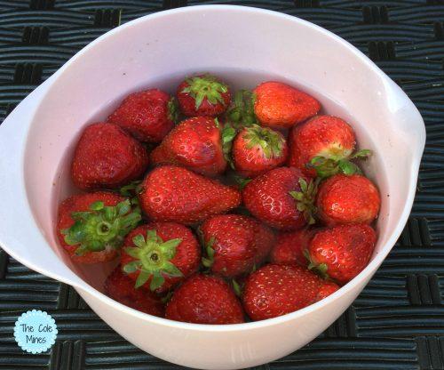 2 Ingredient Fruit And Veggie Wash
