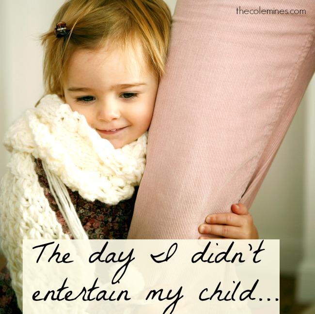 entertain my child